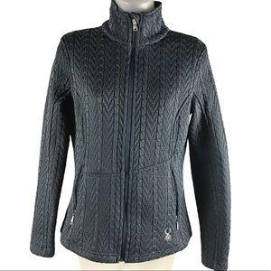 Spyder Women's Major Cable Stryke Fleece Sweater
